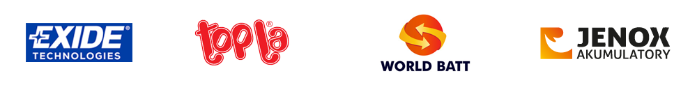 Logo topla - word batt - jenox - exide
